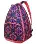 All For Color Rue de Mocha Tennis Backpack - All For Color