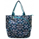 All For Color Artisan Tile Tennis Tote - All For Color