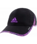 Adidas Women's Adizero II Cap (Black/ Purple/ Raffia) - Adidas Apparel