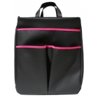 40 Love Courture Black Faux Sophi Tote - Designer Tennis Bags - Luxury Fabrics and Ultimate Functionality