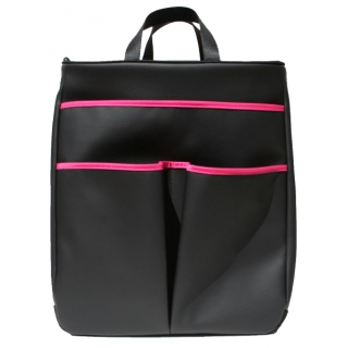 40 Love Courture Black Faux Sophi Tote