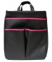 40 Love Courture Black Faux Sophi Tote - Tennis Tote Bags