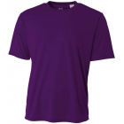 A4 Men's Performance Crew Shirt (Purple) - Men's Tops