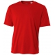A4 Men's Performance Crew Shirt (Scarlet) - A4 Men's T-Shirts & Crew Necks