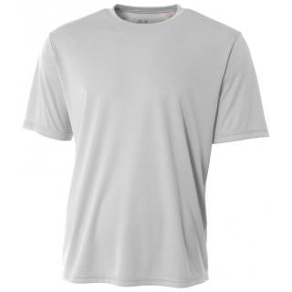 A4 Men's Performance Crew Shirt (Silver)
