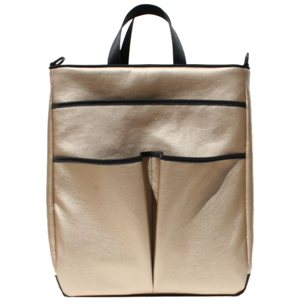 40 Love Courture Bronze Faux Sophi Tote