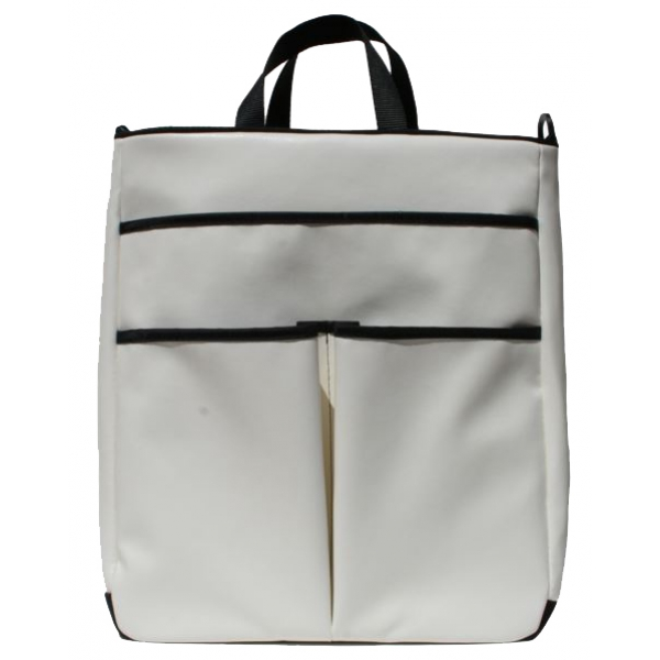 40 Love Courture White Faux Sophi Tote