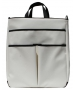 40 Love Courture White Faux Sophi Tote - 40 Love Courture