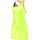 Adidas Women's RG On-Court Dress (Yellow) - Women's Tops Cap-Sleeve Shirts Tennis Apparel