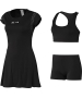 Adidas Women's RG Y-3 On-Court Dress (Black) - Women's Undergarments Tennis Apparel