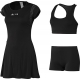 Adidas Women's RG Y-3 On-Court Dress (Black) - Women's Dresses Tennis Apparel