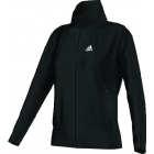 Adidas Women's AdiPure Core Warm-Up Jacket (Black) - Women's Outerwear Warm-Ups Tennis Apparel