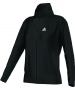 Adidas Women's AdiPure Core Warm-Up Jacket (Black) - Women's Outerwear Jackets Tennis Apparel