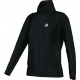 Adidas Women's AdiPure Core Warm-Up Jacket (Black) - Women's Outerwear Tennis Apparel