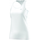 Adidas Women's Ultimate Tank (White) - Women's Tennis Apparel