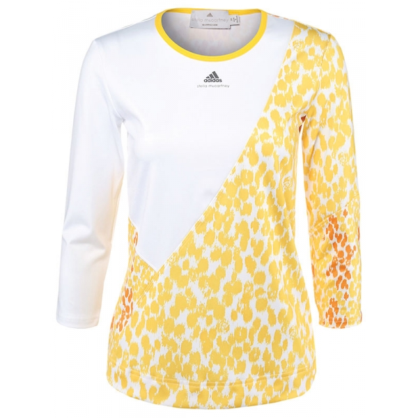 Adidas Women's Stella McCartney L/S (White/Yellow)