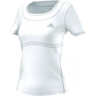 Adidas Women's All Premium Tee (White/Grey) - Adidas Women's Apparel Tennis Apparel