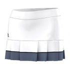 Adidas Women's All Premium Skort (White/ Black) - Women's Tennis Apparel
