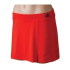 Adidas Women's Galaxy Skort (Red) - Adidas Women's Apparel Tennis Apparel