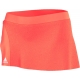 Adidas Women's adiZero Skort (Orange) - Adidas Women's Apparel Tennis Apparel
