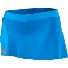 Adidas Women's adiZero Skort (Solar Blue) - Adidas Women's Apparel Tennis Apparel