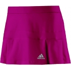 Adidas Women's All Premium Skort (Pink) - Adidas Women's Apparel Tennis Apparel
