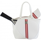 Court Couture Cassanova Tennis Bag (Striped Alabaster) - Court Couture Cassanova Tote Bags