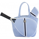 Court Couture Cassanova Tennis Bag (Striped Sky Blue) - - Best Selling Tennis Gear. Discover What Other Players are Buying!