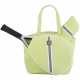 Court Couture Cassanova Tennis Bag (Striped Sage) - Designer Tennis Bags - Luxury Fabrics and Ultimate Functionality