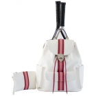 Court Couture Hampton Tennis Backpack (Striped Alabaster) - Court Couture Tennis Bags