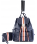 Court Couture Hampton Tennis Backpack (Striped Indigo) - Tennis Bags on Sale