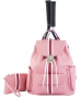Court Couture Hampton Tennis Backpack (Striped Razzmatazz) - Tennis Bags on Sale