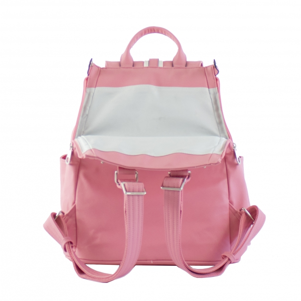 Court Couture Hampton Tennis Backpack (Striped Razzmatazz)