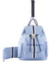 Court Couture Hampton Tennis Backpack (Striped Sky Blue) - Tennis Bags on Sale