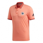 Adidas Men's Climacool RG Tennis Polo (Chalk Coral) - Men's Tops