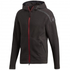 Adidas Men's Z.N.E. Tennis Warm-Up Hoodie (Black) - Men's Jackets
