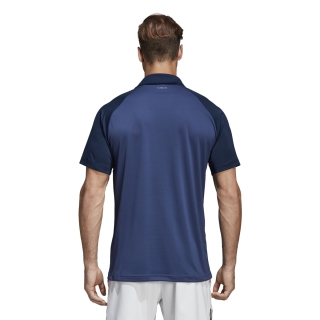 b2670ea0dd8 Adidas Men's Club Color Block Tennis Polo (Collegiate Navy) - Do It ...