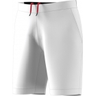 Adidas Men's Barricade Bermuda Tennis Shorts (White) - Men's Tennis Apparel