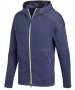 Adidas Men's Z.N.E. Tennis Warm-Up Hoodie (Indigo Blue) - Men's Tennis Apparel