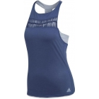 Adidas Women's Melbourne Tennis Tank (Noble Blue/Chalk Blue) - Clearance Sale: Discount Prices on Women's Tennis Apparel