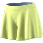 Adidas Women's Melbourne Hosenrock Tennis Shorts (Semi-Frozen Yellow) - Clearance Sale: Discount Prices on Women's Tennis Apparel