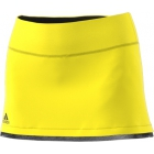 Adidas Women's US Open Tennis Skirt (Bright Yellow/Black) - Adidas