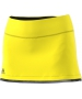 Adidas Women's US Open Tennis Skirt (Bright Yellow/Black) - Women's Skirts