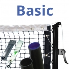 Basic Tennis Court Equipment Package - Tennis Nets