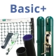 Basic Plus Tennis Court Equipment Package - Tennis Posts