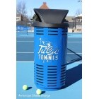Custom Logo Trash Cans (35 gallon) - Tennis Court Equipment