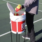 OnCourt OffCourt HandiStand Bucket Holder - Shop the Best Section of Tennis Training Aids