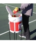 OnCourt OffCourt HandiStand Bucket Holder - Shop the Best Selection of Tennis Ball Hoppers & Pickup Tubes