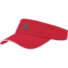 Adidas ClimaLite Visor (Scarlet/White/Night Metallic) - Adidas Tennis Apparel