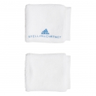 Adidas by Stella McCartney Tennis Wristband (White/Blue) - Tennis Accessories